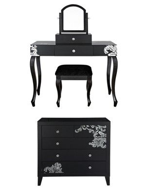 Laurence Llewelyn Bowen Scaramouche Bedroom Furniture Package,  Http://www.very