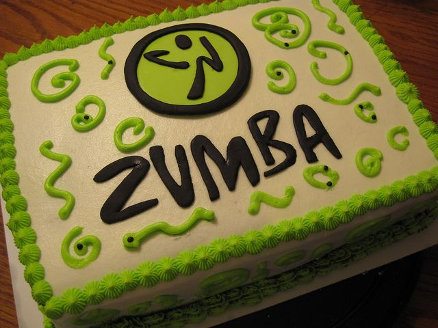 Zumba Cake Pinterest Zumba Party Cake And Zumba Fitness
