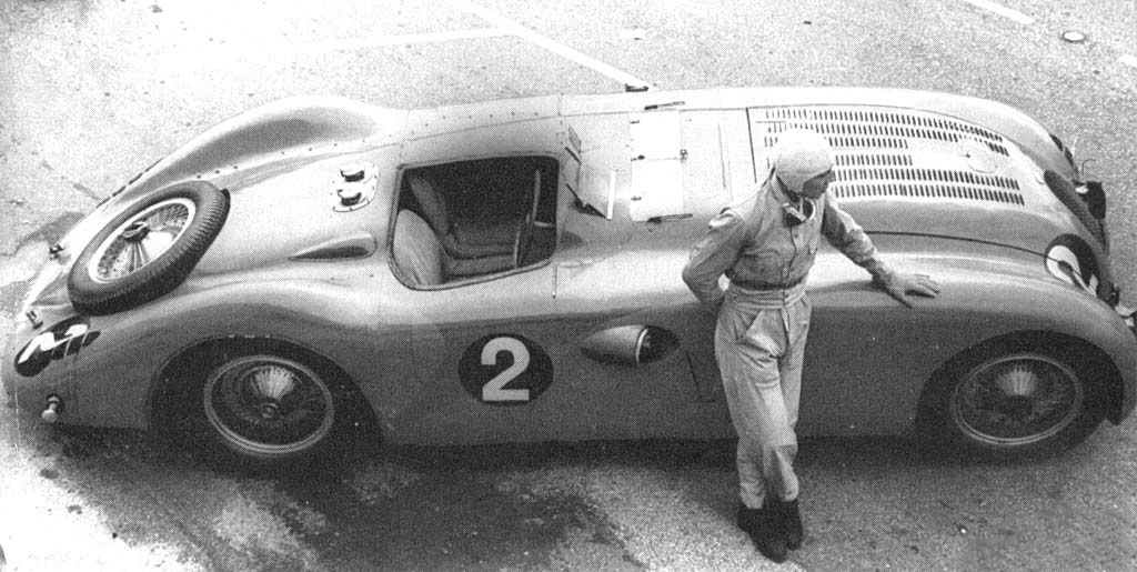 Jean Pierre Wimille And The Bugatti Type 57g Tank At Le Mans 1937