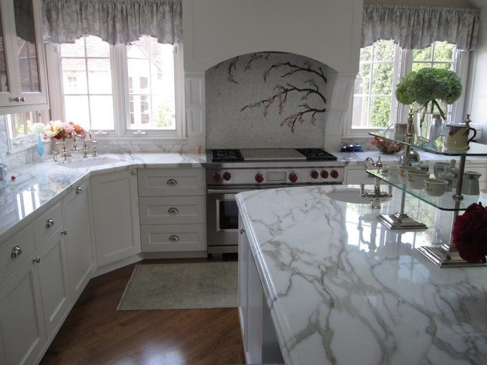 Beautiful Marble Tile Mosaic Backsplash Designs Slate