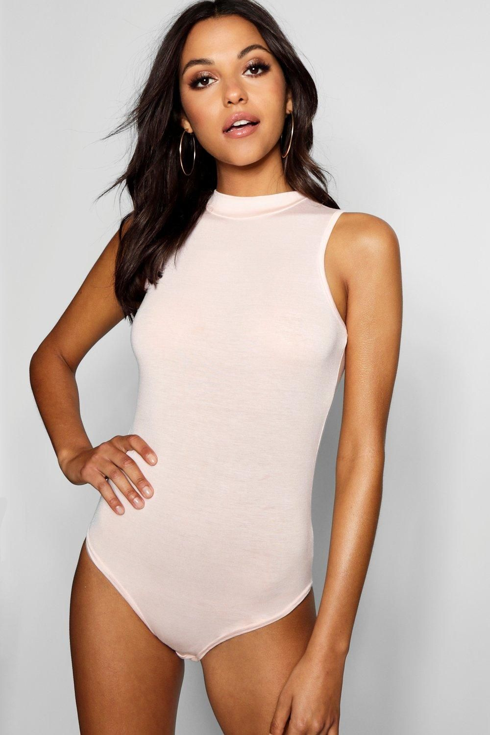 8bf31a501d09 Click here to find out about the Tall Megan High Neck Sleeveless Bodysuit  from Boohoo, part of our latest Tall Clothing collection ready to shop  online ...