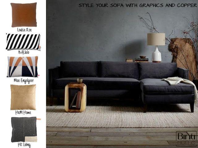 Hk Living Kast : Toch maar een grijze muur? met een knalkleur kast ernaast geel oid