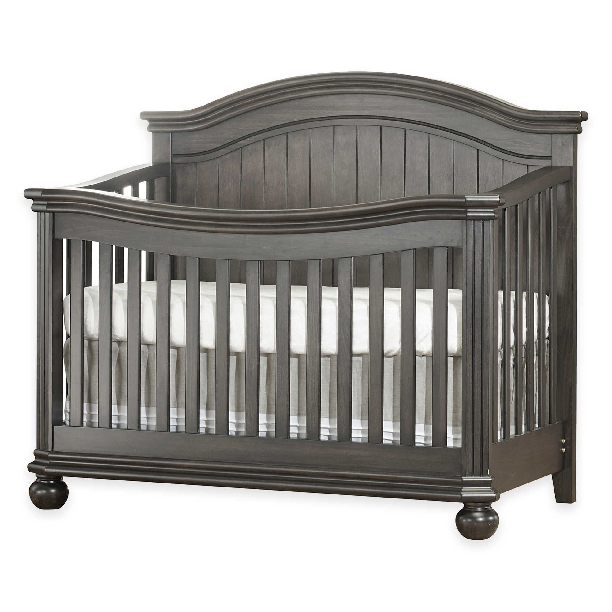 Sorelle Finley 4 In 1 Convertible Crib In Vintage Grey