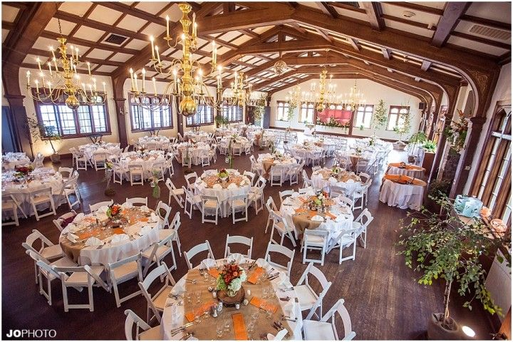 Orange And White Diy Wedding Ideas With Burlap Click To View More Of