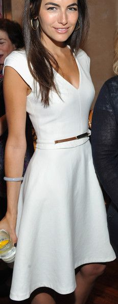 Camilla Belle Cocktail Dress  Belle Little white dresses and Belt