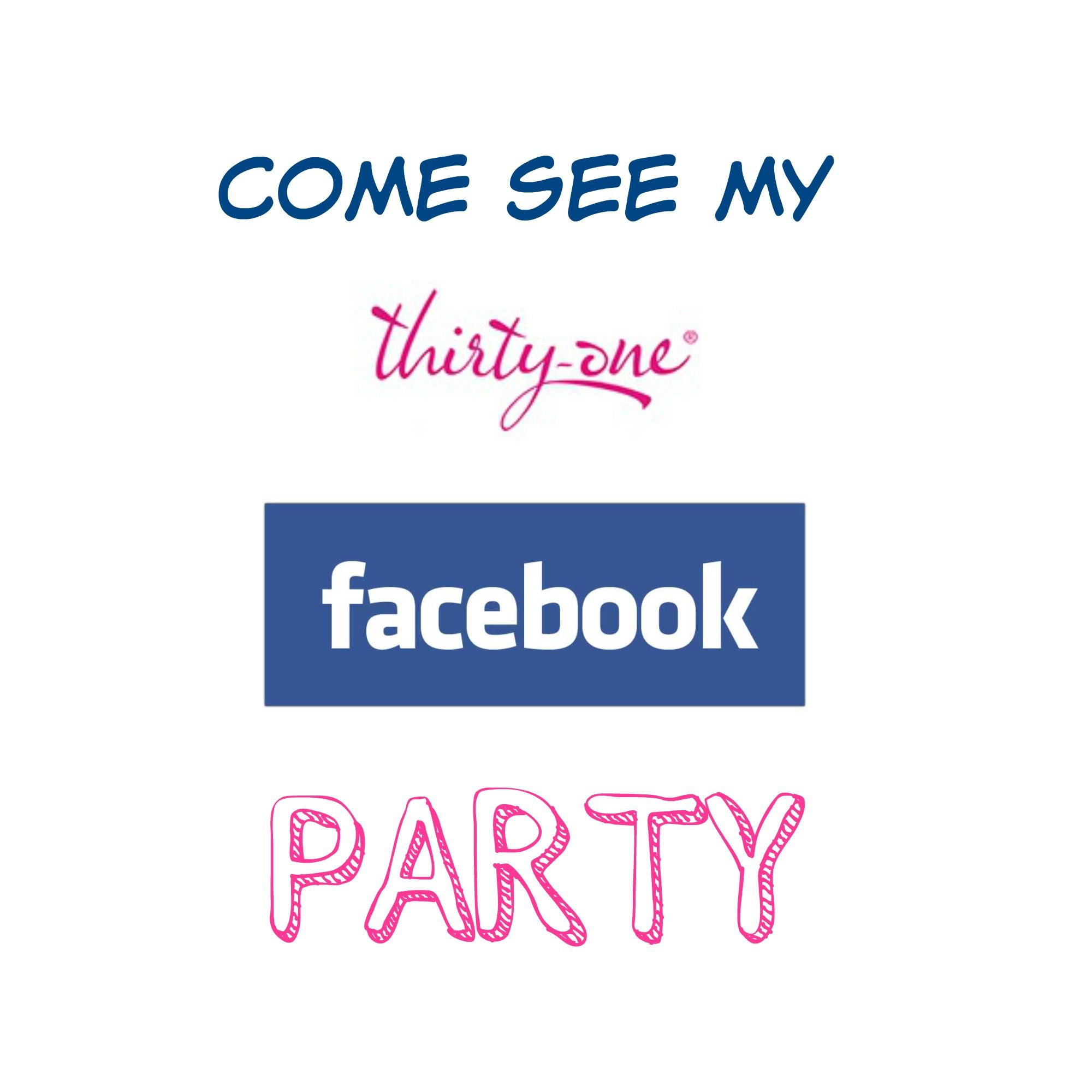 Thirty-One Facebook Party Script | 31 ideas, 31 gifts and Gift