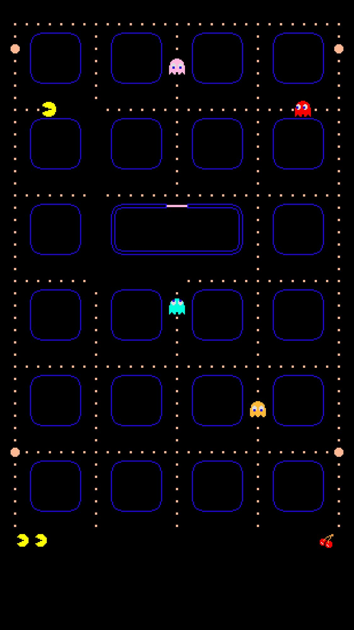 Pac Man Wallpapers For Iphone Iphone 6 Plus Wallpaper
