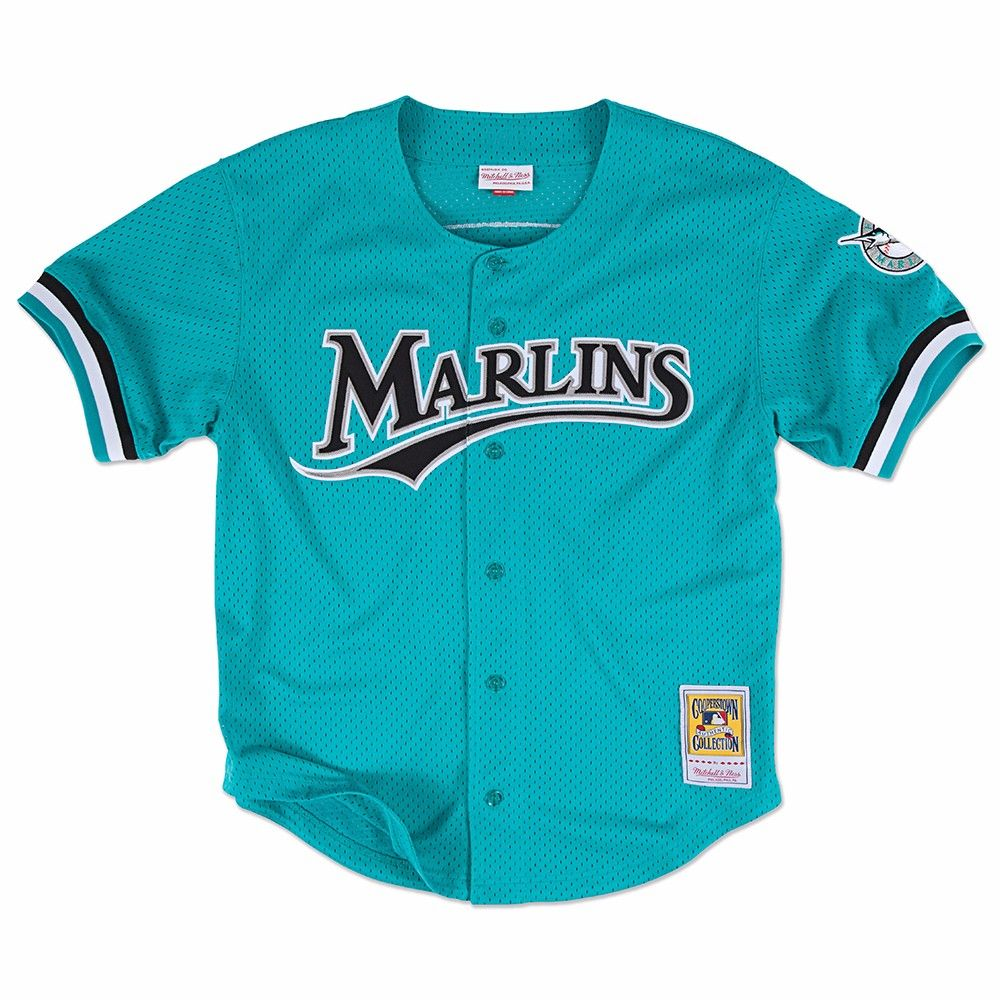 Details About Mlb Mitchell Ness Authentic Batting Practice Throwback Jersey Collection Men S Jersey Marlins Andre Dawson