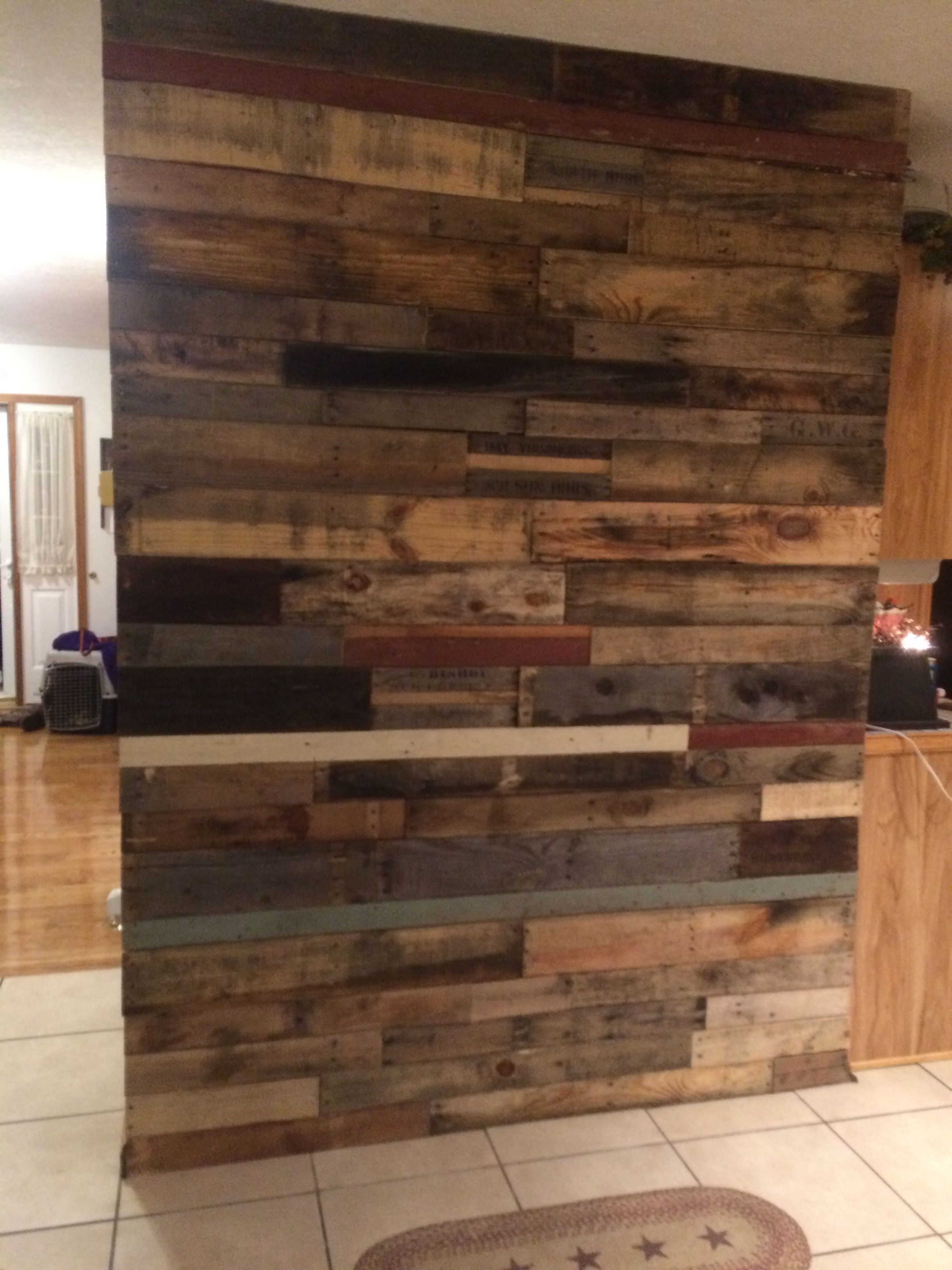 Pin by Shawn keifer on Pallet wall | Wood, Pallet projects