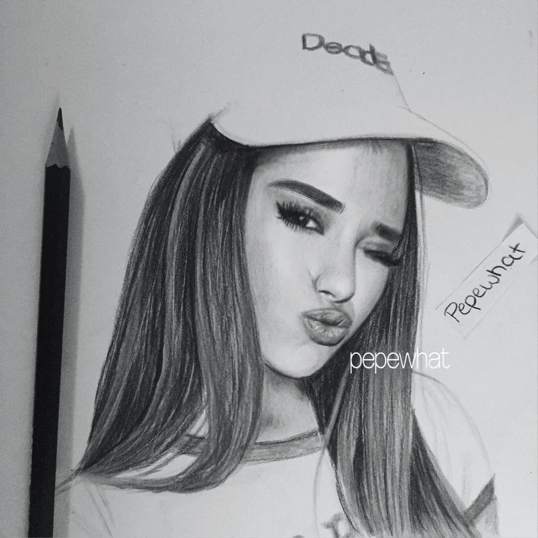 Ariana Grande Zeichnungen Bleistift