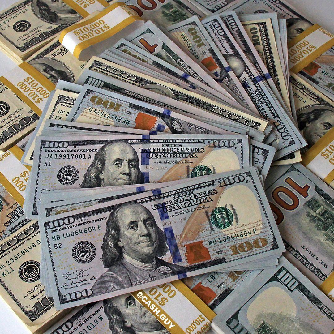 Money Stacks And 100 Dollar Bills Money Stacks Money Cash