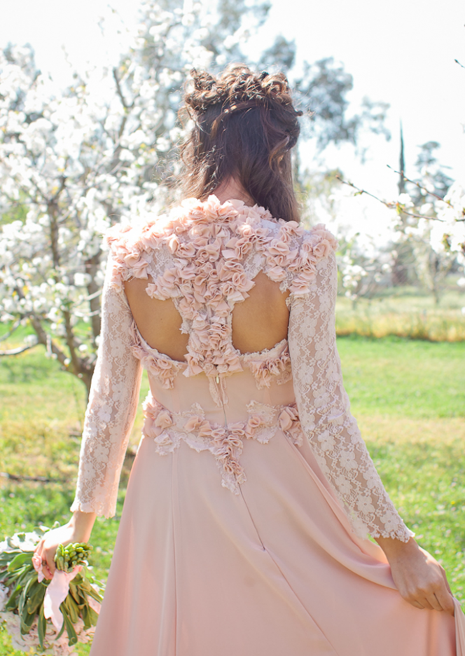 Well Dressed | Michelle Hébert Spring Couture at Cherry Orchard // Photography by Heather Molina