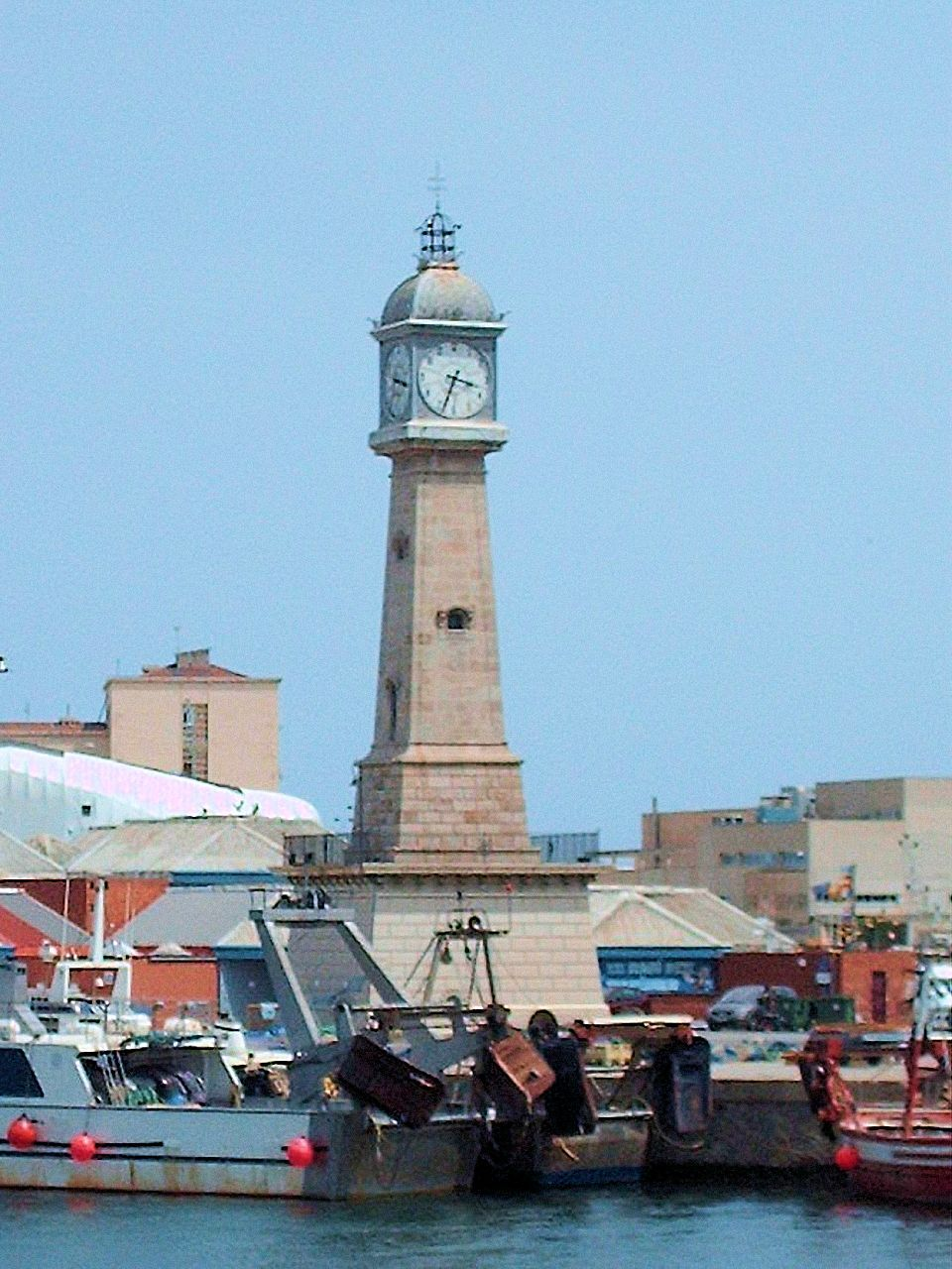 Reloj de la Lonja - Barceloneta