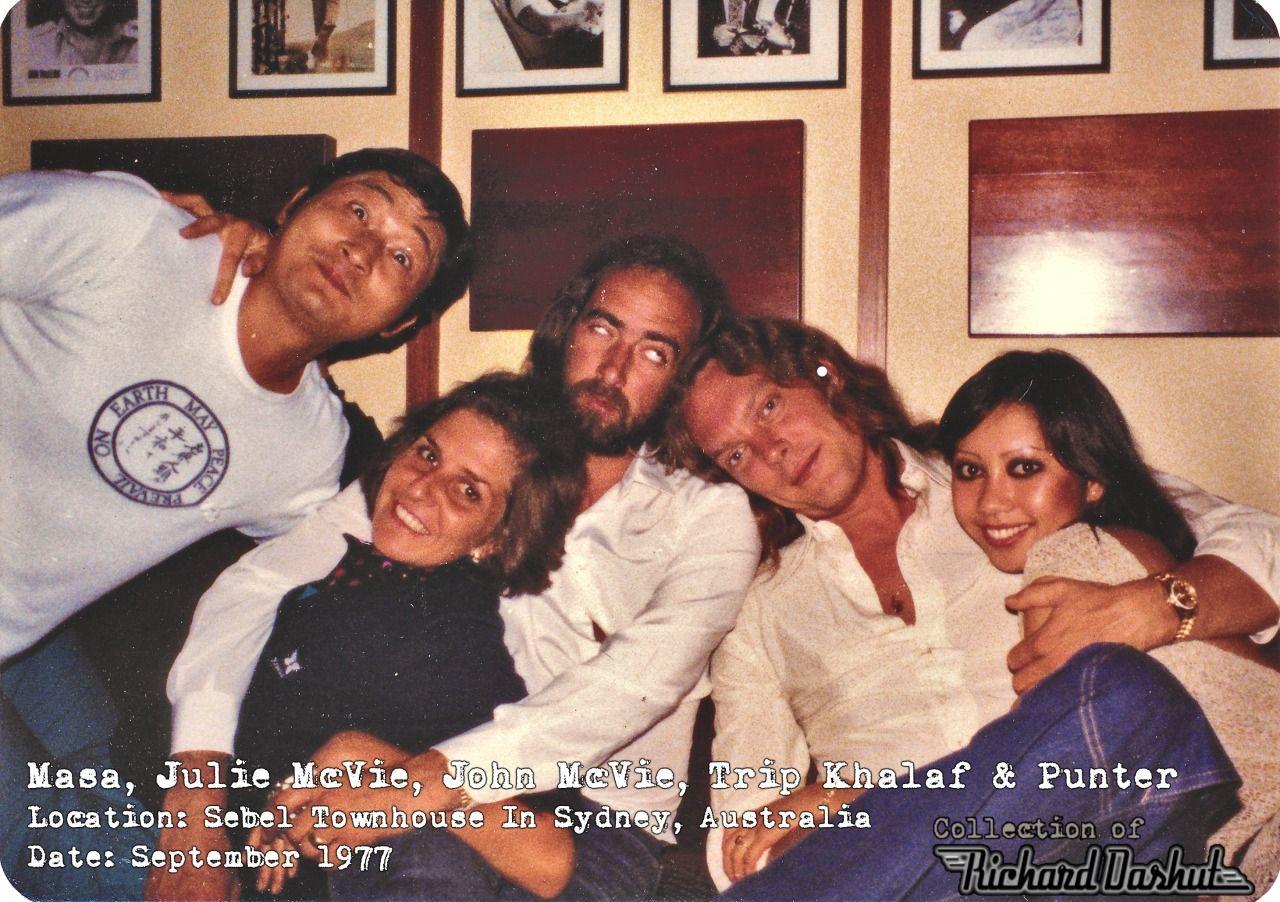 John Mcvie Julie Mcvie And Others 1977 Shared Via