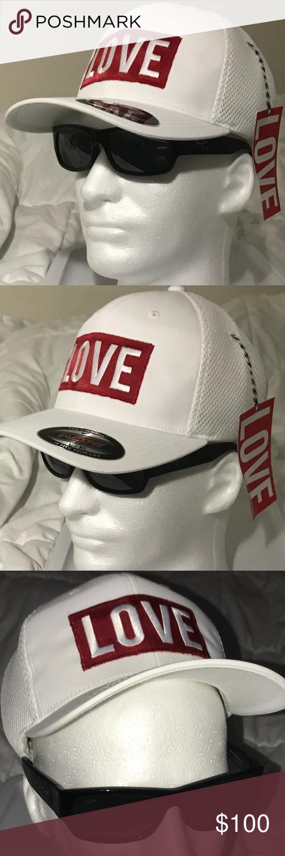Limited Edition L Xl White Love The Hat Vip Clothes Design Fashion Clubwear