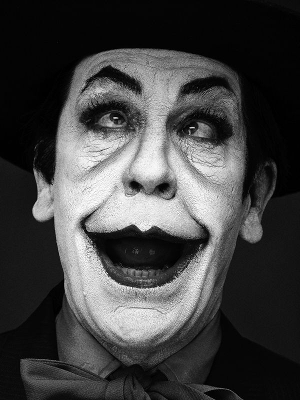 """Sandro Miller: Malkovich, Malkovich, Malkovich: Homage to photographic masters   Catherine Edelman Gallery - John Malkovich in """"Jack Nicholson"""" by Herb Ritts (1988)"""