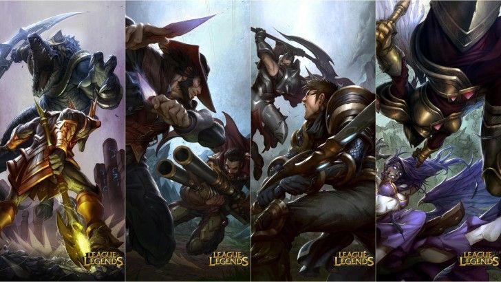 League of Legends Battle Fight vs Renekton Nasus Twisted ...