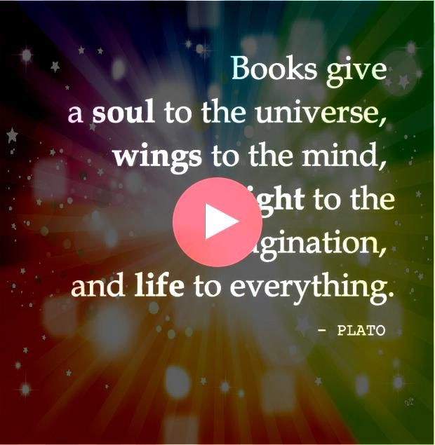 Books give a soul to the universe wings to the mind flight to the imagination Books give a soul to the universe wings to the mind flight to the imagination Herbstmode dic...