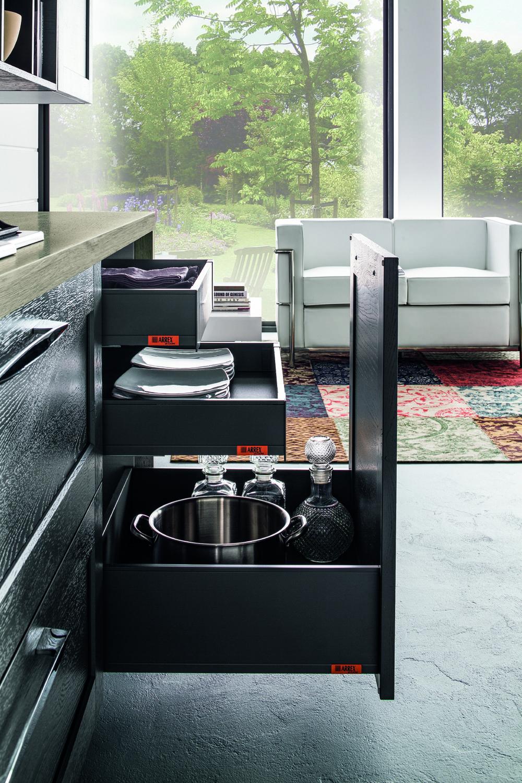 Arrex le cucine cassetti belli e funzionali per la tua cucina cassetti belli e funzionali - Cassetti per cucine ...
