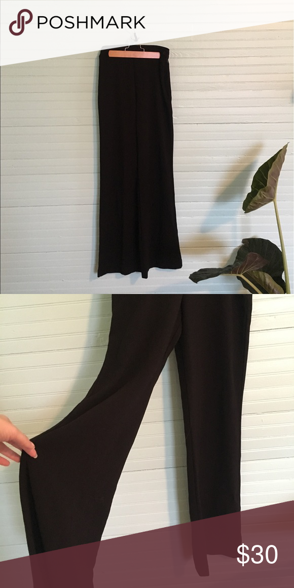 deac4ceffb7 american apparel charlie crepe pant get yer 90 s OR 70 s look on with these  wide leg