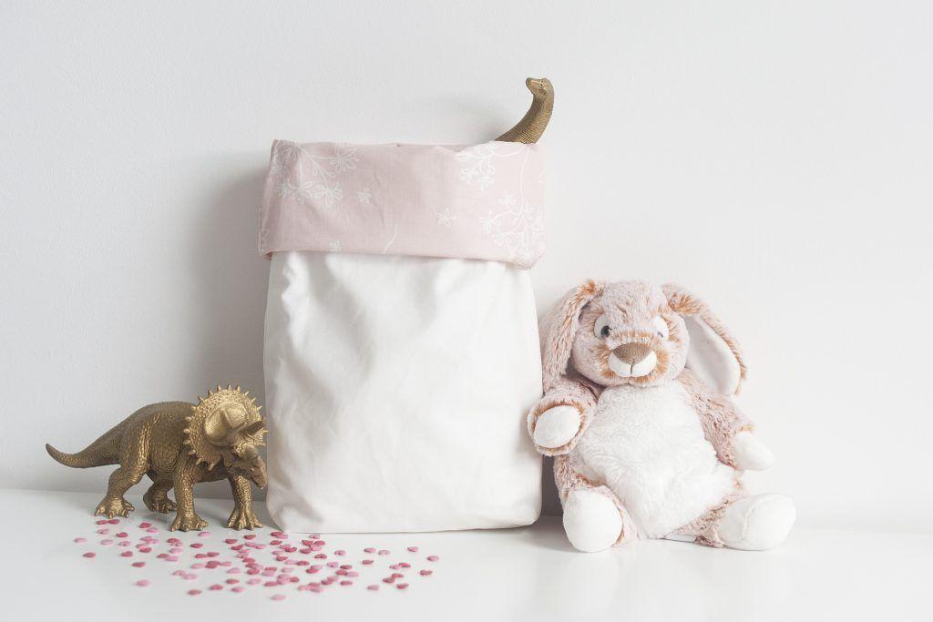 Panier de rangement pour contenir les jouets, couches ou produits de