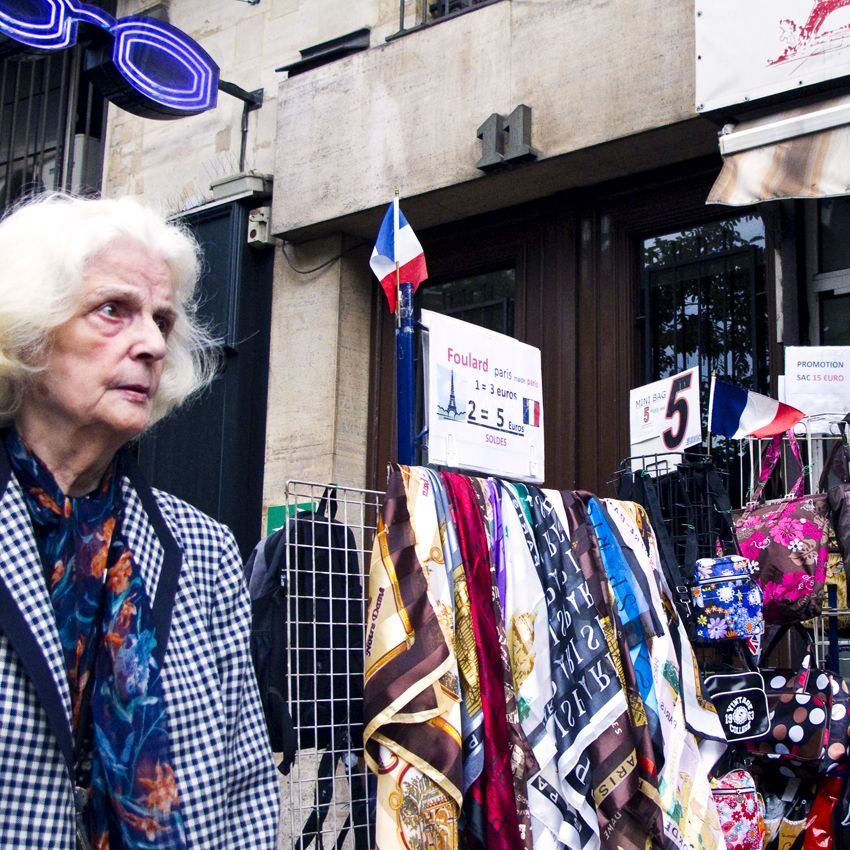 Foulards, Paris