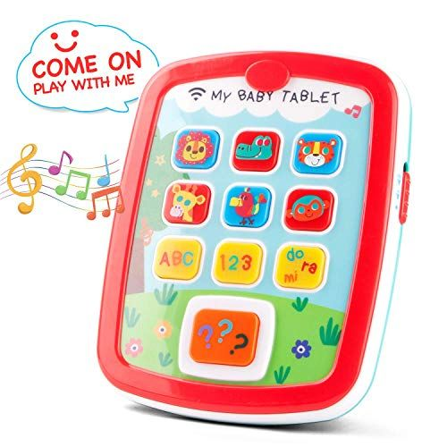 kidpal Learning Tablet Toys for 1 2 Years Old Toddler Baby ...