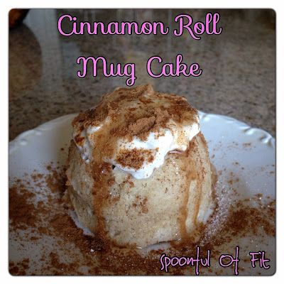 Cinnamon Roll Mug Cake Clean Eating Replace Stevia With Honey For That One