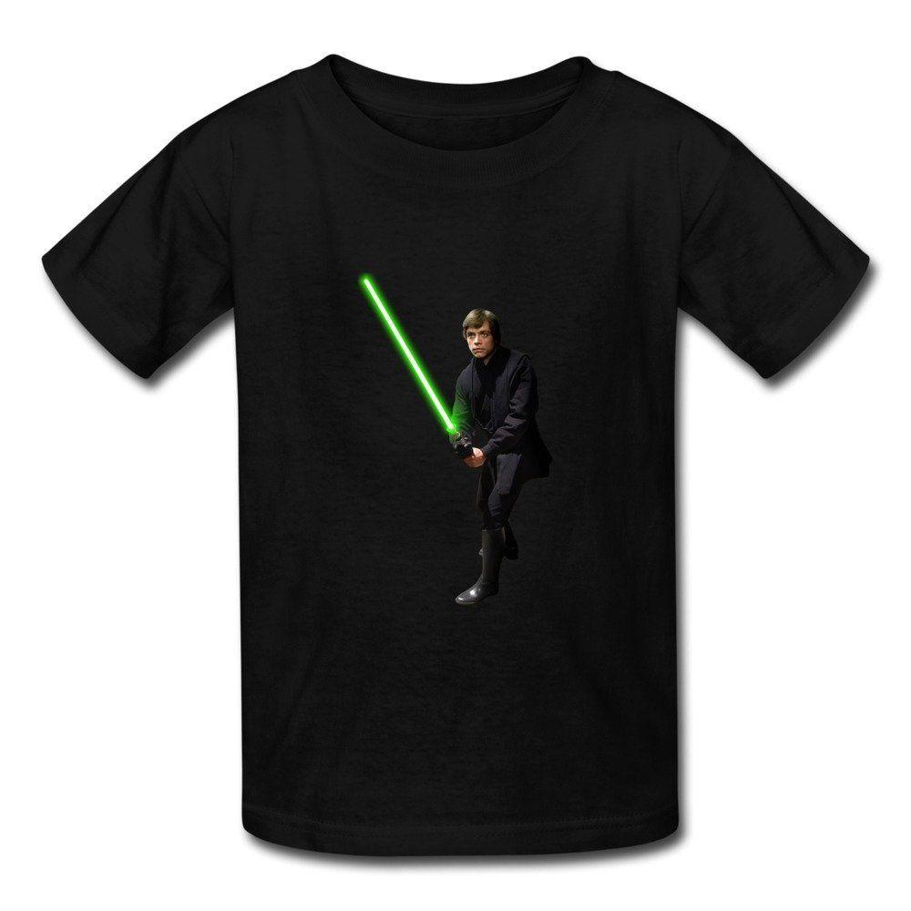 Kid's Designer Star Wars Luke Skywalker T-shirts By Mjensen Medium