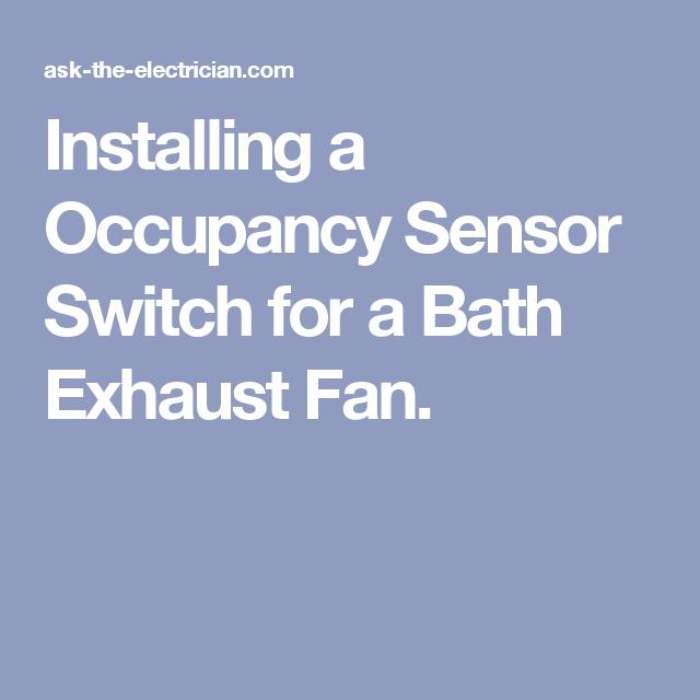 laundry room exhaust fan multi room installing occupancy sensor switch for bath exhaust fan fan