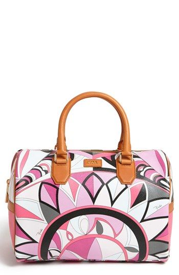 Emilio Pucci 'Large' Boston Bag | Nordstrom
