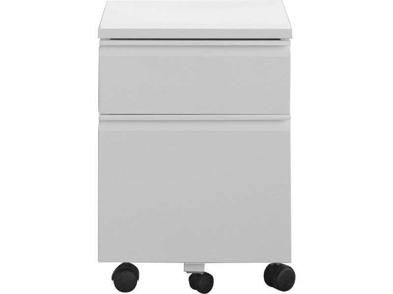 caisson primo coloris blanc vente de accessoires de bureau conforama hangar. Black Bedroom Furniture Sets. Home Design Ideas