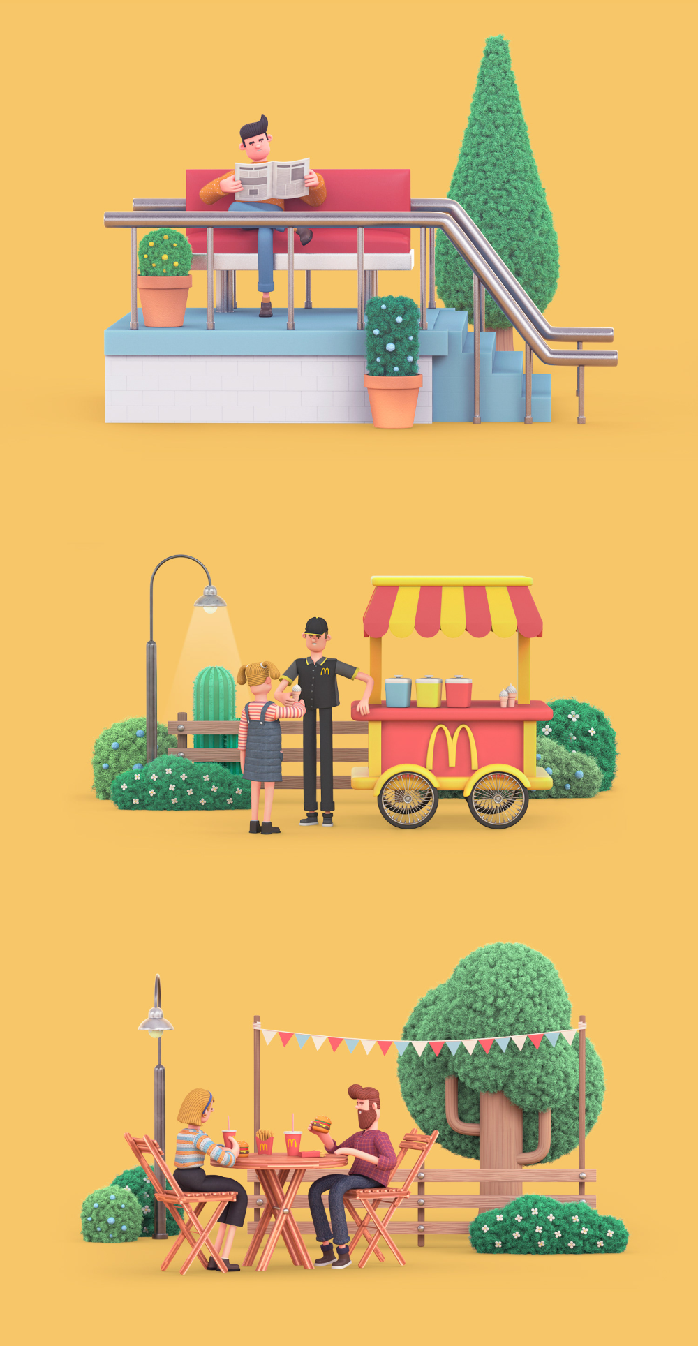 character on Behance in 2020 Character design animation