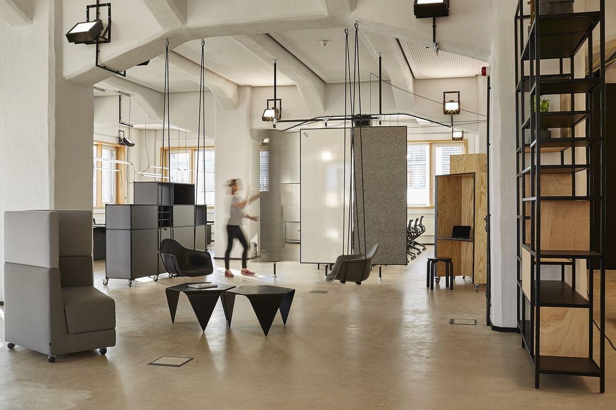 Deloitte Düsseldorf (Germany) Office interior design