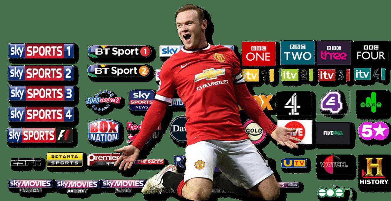 SetTV Bt sport, Soccer games, Bbc one