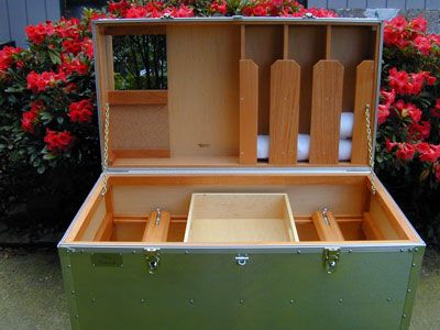 Wooden Tack Trunk Plans