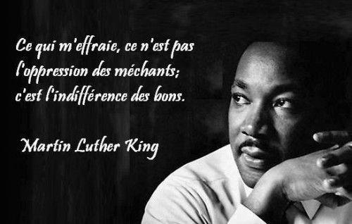 Super Voler, courir, marcher, ramper - Martin Luther King   Citations  QD08