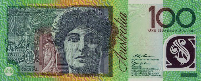 Australian 100 Dollar Note Counterfeit Money Detection Know How Bank Notes Dollar Note Australian Money