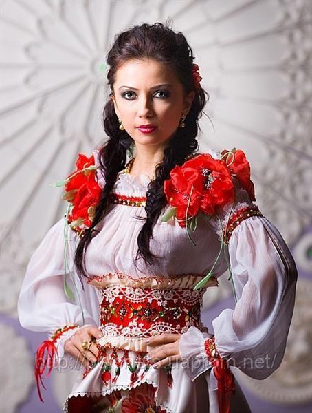 Русские стилизованные платья