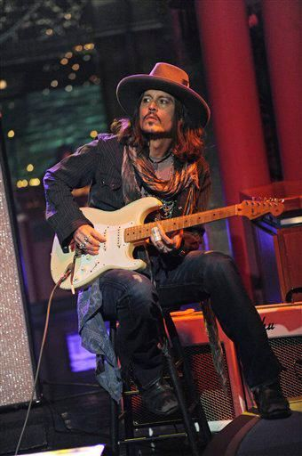 Johnny Depp on David Letterman 2/21/13 by ODDtaylor, via Flickr