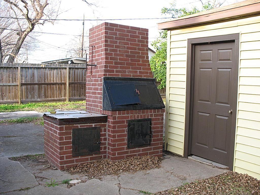 Brick bbq pit designs bbq pinterest brick bbq - Building an outdoor brick barbecue ...
