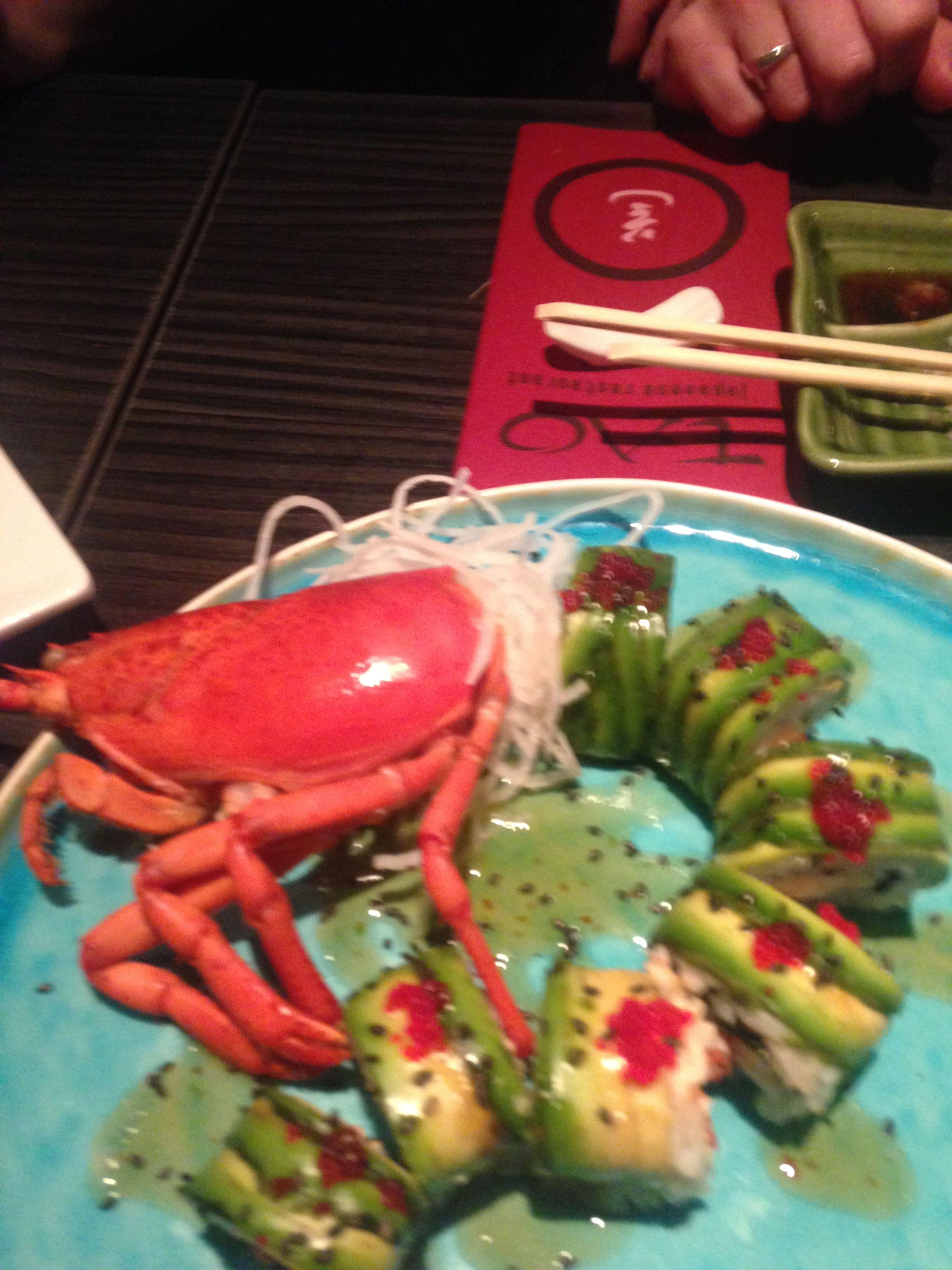 10 maart 2017, heerlijke gerechten bij Tao te Enschede. Prachtige plaatjes toch!?