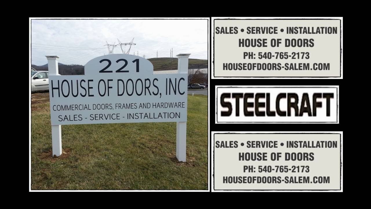Steelcraft hollow metal doors and frames by House of Doors - Roanoke ...