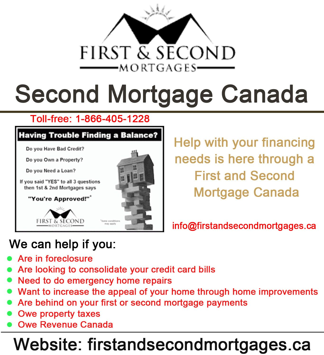 Consolidating second and first mortgages