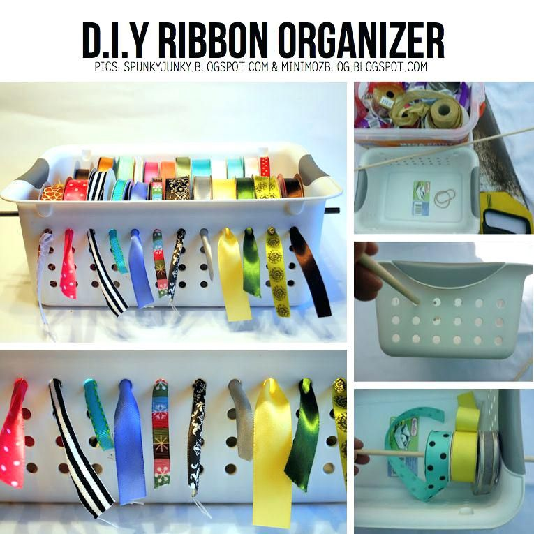 Ribbon Organizer Brilliant Way To Store Ribbon I Even Have This