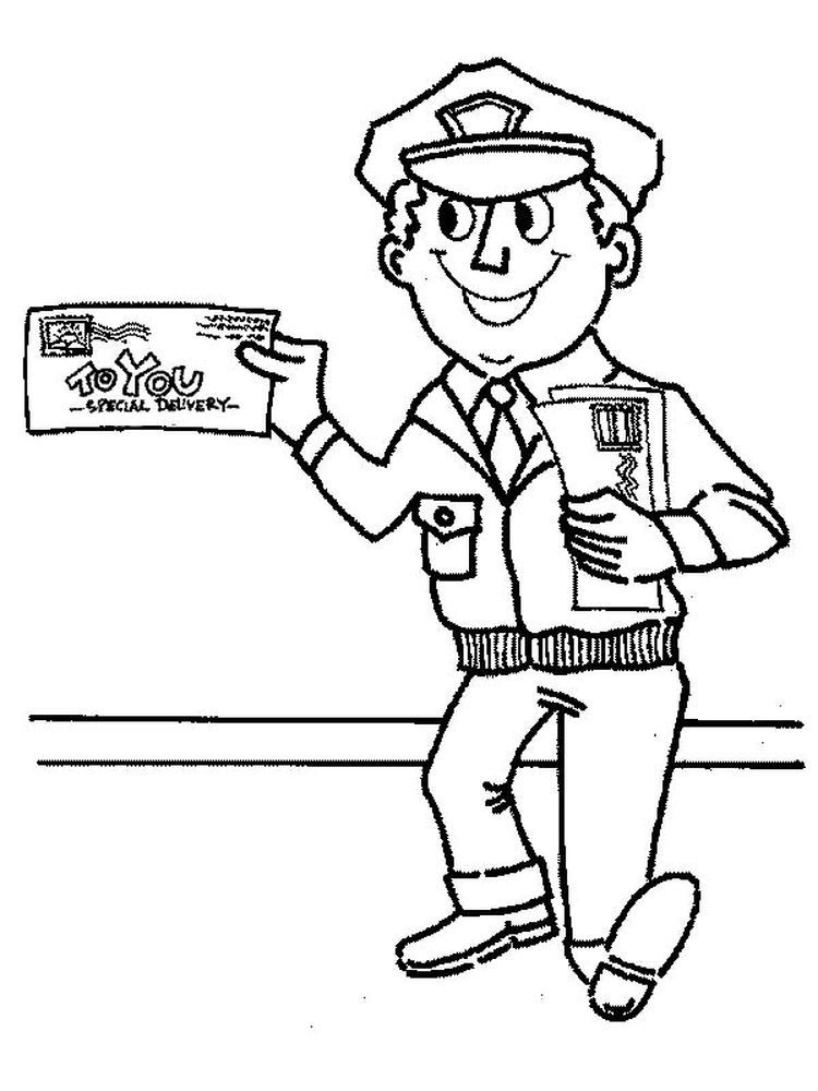 Printable Community Helper Coloring Pages We Must Know The Police Postmen Firefighters Soldi Hello Kitty Colouring Pages Cool Coloring Pages Coloring Pages
