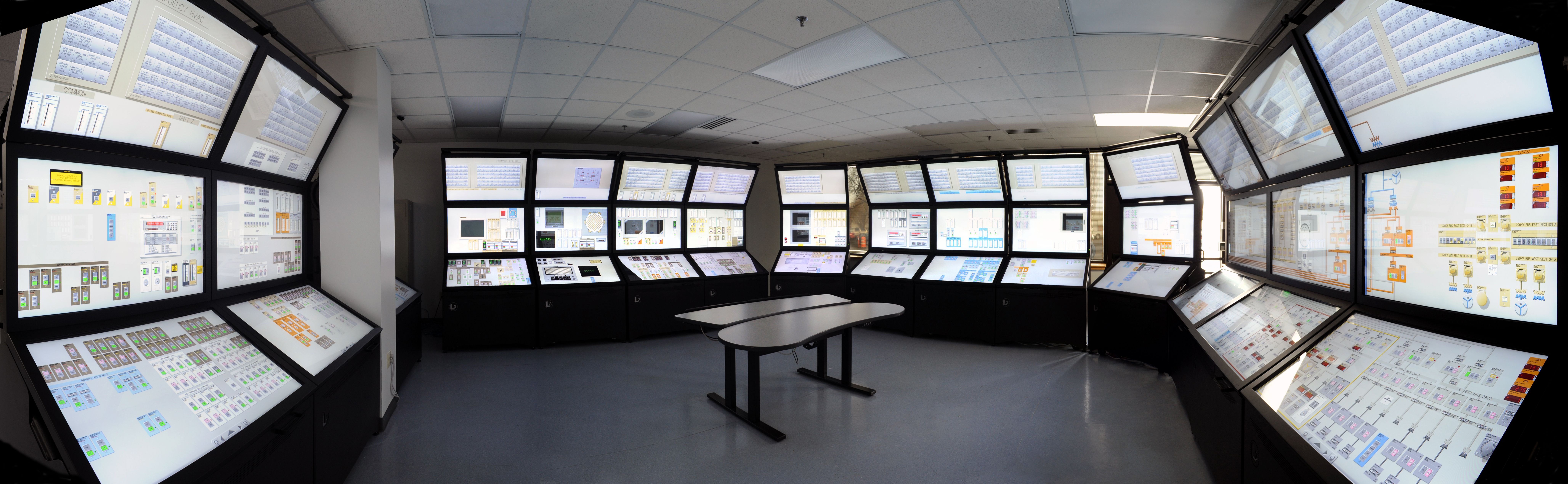 small resolution of modernizing nuclear power plants to help extend their operating lifetimes is no small task but the endeavor offers an opportunity to improve control room