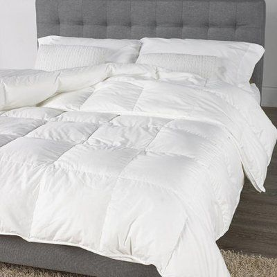 Alwyn Home Rockridge All Season Down Comforter | Wayfair #downcomforter