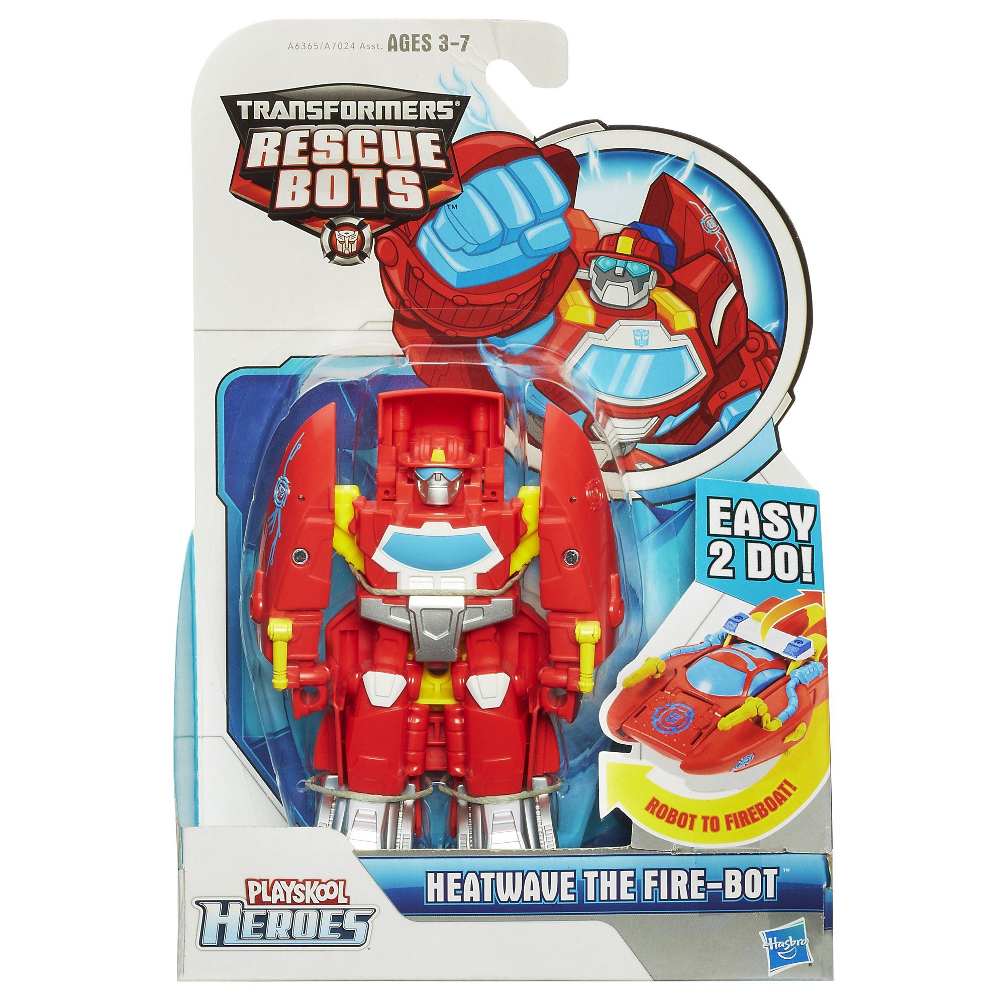 Amazon Com Playskool Heroes Transformers Rescue Bots Heatwave The