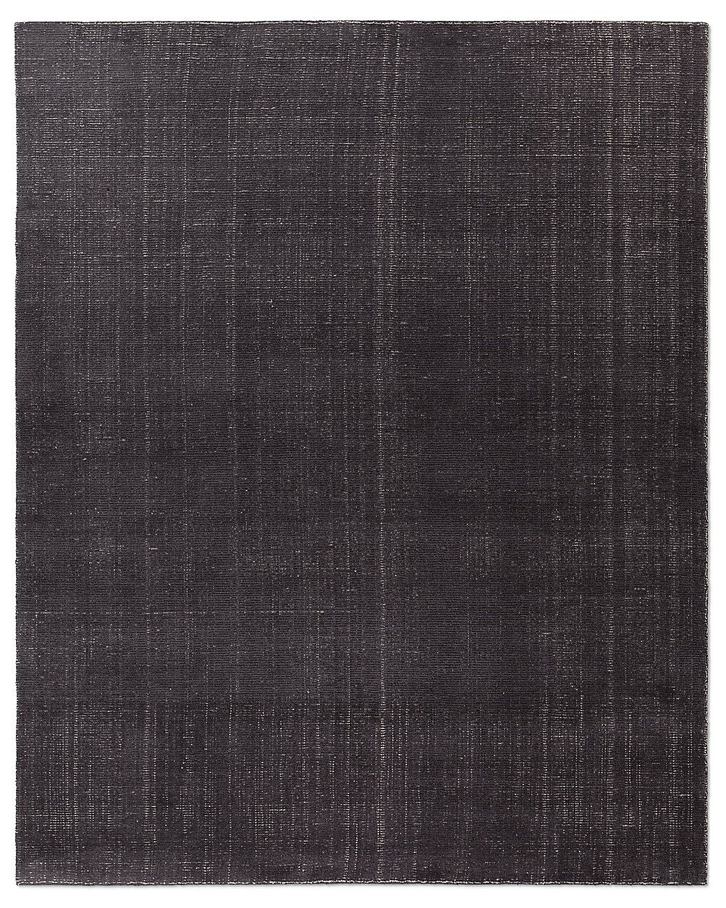 Distressed Wool Rug Charcoal Ben Soleimani For Rh